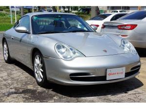 ポルシェ 911 911カレラ4 ディーラー車 左ハンドル 6速MT アルカンターラルーフ 地デジナビ Bカメ