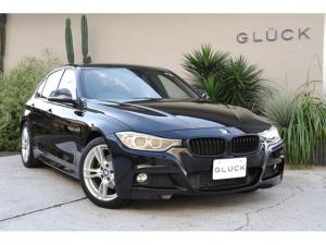 BMW 3シリーズ 320d Mスポーツ Mエアロパッケージ スポーツシート 専用アルミホイール HDDナビ スポーツサスペンション HIDヘッドライト マットブラックグリル レーンデパーチャー