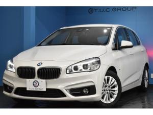 BMW 2シリーズ 218dアクティブツアラー ラグジュアリー 4月末迄の期間限定掲載! 追従ACC HUD アドバンスドアクティブセーフティP&コンフォートP 車線逸脱&歩行者警告 衝突軽減B LED/H ヒーター付黒革 電動Rゲート スマートキー 2年保証