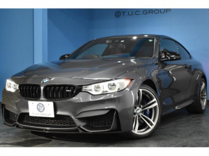 BMW M4 M4クーペ 可変Mサス HUD LEDヘッドライト 19インチAW ヒーター赤革 車線逸脱&歩行者警告 衝突軽減B カーボンルーフ パドルシフト タッチPiドライブフルセグ Bカメラ BTオーディオ 2年保証
