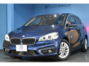 BMW 2シリーズ 218dアクティブツアラー ラグジュアリー 4月末迄の期間限定掲載! アドバンスドアクティブセーフティ&コンフォート&プラスP HUD 追従ACC LED/H ヒーター黒革 車線逸脱警告 電動Rゲート スマートキー バックカメラ 2年保証