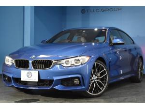 BMW 4シリーズ 435iグランクーペ Mスポーツ 4月末迄の期間限定掲載! アドバンスドアクティブセーフティP 追従ACC HUD LED/H アイボリー革 OP20AW 車線逸脱&歩行者警告 衝突軽減B フルセグ Bカメ 電動Rゲート 2年保証