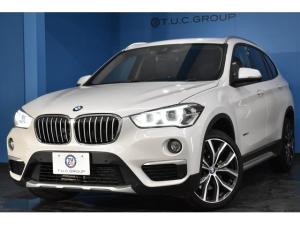 BMW X1 xDrive 20i xライン 4月末迄の期間限定掲載! アドバンストアクティブセーフティ&コンフォート&ハイラインP 追従ACC HUD LED/H 黒革 車線逸脱&歩行者警告 衝突軽減 Bカメ 電動Rゲート 19AW 2年保証
