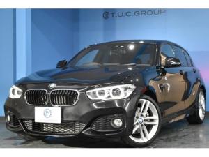BMW 1シリーズ 118i Mスポーツ 後期 LED/H&テール フルセグTV PDC連動Bカメラ 車線逸脱&歩行者警告 衝突軽減ブレーキ 1オーナー クルコン iストップ コンフォートA タッチPiドライブ BTオーディオ  2年保証