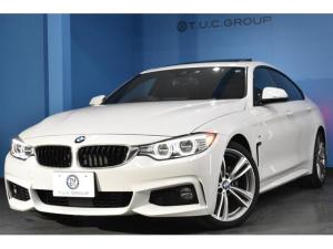 BMW 4シリーズ 420iグランクーペ Mスポーツ サンR 追従ACC HUD アダプティブLED/H 車線逸脱&歩行者警告 衝突軽減B 19AW 電動Rゲート Bカメラ BTオーディオ タッチPiドライブ エアロ iストップ コンフォA 2年保証