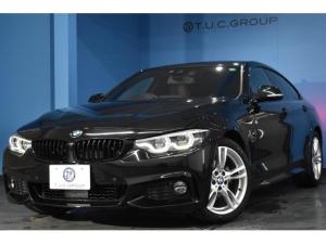 BMW 4シリーズ 420iグランクーペ Mスポーツ 新車保証 ヘキサゴナルLEDヘッド マルチディスプレイメーター 追従ACC 車線変更警告 ヒーター付茶革 タッチパネルiドライブナビ フルセグTV ウッドインテリア パドルシフト 電動リアゲート