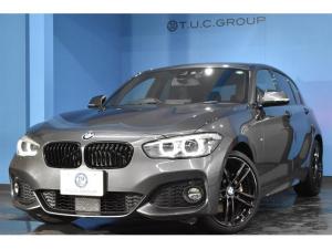 BMW 1シリーズ 118d Mスポーツ エディションシャドー 新車保証付 限定車 アップグレードP 追従ACC LEDヘッドライト&テール ヒーター付電動黒革  タッチパネルナビ 衝突軽減ブレーキ 車線逸脱&歩行車警告 Pアシスト Bカメラ iストップ