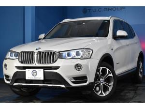 BMW X3 xDrive 20d Xライン HUD 追従ACC 車線逸脱警告 衝突軽減B ヒーター付電動ブラウンレザー 18AW タッチパッドiドライブナビ フルセグTV 360度カメラ 電動Rゲート アイドリングストップ 2年保証