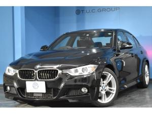BMW 3シリーズ 320i Mスポーツ 追従ACC 衝突軽減B 車線逸脱&歩行車警告 iストップ パドルシフト タッチパッド式iドライブHDDナビ DVD再生 ミュージックサーバー スマートキー リアPDC連動Bカメラ ドラパフォ 2年保証