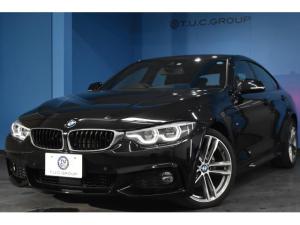 BMW 4シリーズ 420iグランクーペ Mスポーツ 新車保証 後期 ヘキサゴナルLED/H&テール マルチメーターディスプレイ 追従ACC レーンチェンジウォーニング シートヒーター 19AW 衝突軽減B 車線逸脱&歩行車警告 フルセグ 2年保証