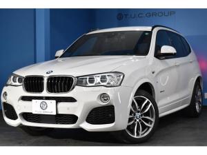 BMW X3 xDrive 20d Mスポーツ 後期 ヒーター黒革 追従ACC HUD 衝突軽減ブレーキ 車線逸脱&歩行車警告 360度カメラ 19AW Fカメラ Bカメラ フルセグ パドル 電動Rゲート iストップ スマートキー 2年保証