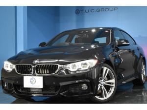 BMW 4シリーズ 435iグランクーペ Mスポーツ アドバンスドアクティブセーフティPKG 追従ACC HUD LED/H ヒーター黒革 OP19AW 衝突軽減ブレーキ 車線逸脱&歩行者警告 電動Rゲート フルセグ 前後PDC連動Bカメラ 2年保証
