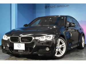 BMW 3シリーズ 320d Mスポーツ 後期 LEDヘッドライト&テール 追従クルーズコントロール 車線逸脱警告 エアロ 18アルミホイール タッチパッドiドライブ バックカメラ アルカンターラ電動シート iストップ スマートキー 2年保証