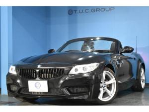 BMW Z4 sDrive20i Mスポーツ デザインピュアトラクションパッケージ 専用ヒーター付ハーフレザースポーツシート アルカンターラオレンジドアトリム 電動オープン LEDポジション付キセノン 18AW パドルシフト フルセグ 2年保証