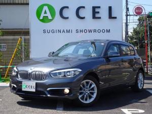 BMW 1シリーズ 118d スタイル インテリジェントセーフティ 純正HDDナビ/フルセグTV/Bカメラ ハーフレザーシート コンフォートアクセス