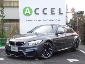 BMW M3 M3 M DCT ドライブロジック 黒レザー/シートヒーター カーボンルーフ HDDナビ/フルセグTV バックカメラ LEDヘッドライト コンフォートアクセス インテリジェントS