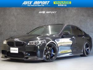 BMW M5 M5 3Dデザイン20AW&マフラー カーボンエアロ 禁煙車