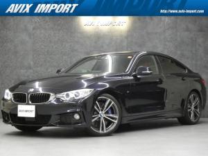 BMW 4シリーズ 435iグランクーペ Mスポーツ ドライビングアシスト 赤革 ナビ 地デジ Bカメラ PDC ACC パワーシート ヒーター ダイナミックパフォーマンス コンフォートアクセス パワートランク キセノン REMUSマフラー 19AW