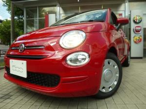フィアット 500 ツインエア ポップ 7インチU-コネ 禁煙車 全国新車保証付