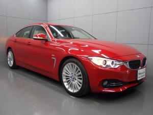 BMW 4シリーズ 420iグランクーペ ラグジュアリー 革シート 純正HDDナビ ACC