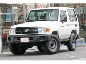 トヨタ ランドクルーザー70  ショート ガソリン 左ハンドル 逆輸入