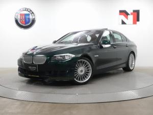 BMWアルピナ B5 ビターボ リムジン 20インチAW クルーズコントロール パドルシフト Rカメラ FRセンサー キセノン USB 電動ガラスサンルーフ フロントシートヒーター