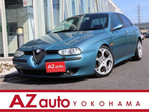 アルファロメオ アルファ156 2.5 V6 24V 6速マニュアル/右H/運転席レカロシート