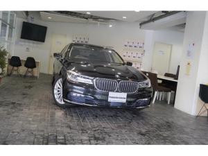 BMW 7シリーズ 740i 1オナリアコンフォ-トPKGプラスPKG純19AW