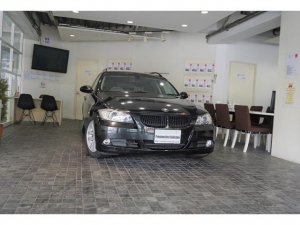 BMW 3シリーズ 320iツーリング1オナD記7枚ナビPシ-トコンフォ-ト