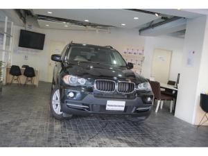 BMW X5 3.0si 1オーナー ディーラー整備記録6枚 サンル-フ 純正ナビ バックカメラ ブラックレザーシート