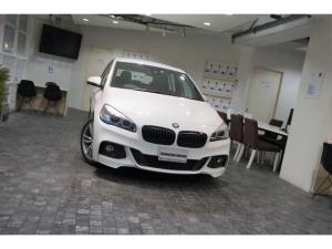 BMW 2シリーズ 218dグランツアラー Mスポーツ 1オーナー オプション18アルミ コンフォ-トパッケージ 電動テ-ル バックカメラ