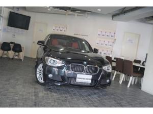 BMW 1シリーズ 120i Mスポーツ 1オーナー コーラルレッドレザーシート バックカメラ 後期ナビ 地デジ ETC