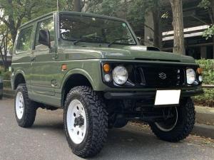 スズキ ジムニー ランドベンチャー 4WD リビルトエンジン ブラウンシート