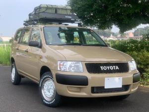 トヨタ サクシードバン U 1.5 公認リフトUP 新品AW&マッドタイヤ ラック