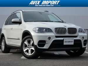 BMW BMW X5 xDrive35i後期型 7人乗り パノラマ黒革 禁煙車