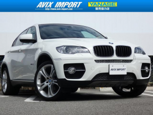 iBMW BMW X6 xDrive35i 黒革 後期8速AT HDDナビ 21AW