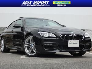 BMW 6シリーズ 640iグランクーペMスポ 後期型 SR 黒革 ACC 禁煙