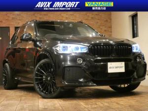 BMW X5 xDrive 40e Mスポーツ HAMANN仕様 セレクトP パノラマSR 黒革 ACC LEDライト HUD HDDナビ地デジ全周カメラ 22AW