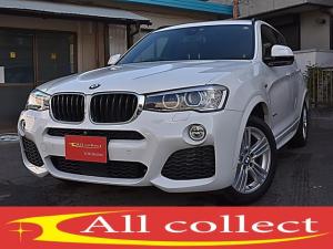 BMW X3 xDrive 20d Mスポーツ 1オーナー 後期モデル ブラウンレザーシート 左右パワーシート シートヒーター ACC付 パワーゲート