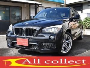 BMW X1 sDrive 18i Mスポーツパッケージ ワンオーナー Mスポーツ ブラックレザーシート 左右パワーシート 左右シートヒーター パノラマサンルーフ