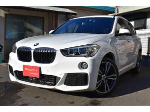 BMW X1 sDrive 18i Mスポーツ 左右パワーシート パワーテールゲート オプション19インチAW 純正ナビ 地デジ Bカメラ