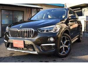 BMW X1 sDrive 18i xライン ワンオーナー 禁煙車 オイスターレザーシート 18インチAW シートヒーター