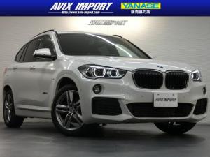 BMW X1 xDrive18d Mスポーツ インテリS ナビ 禁煙1オナ