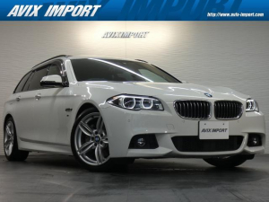 BMW 5シリーズ 535iツーリング Mスポーツ 後期最終型 パノラマSR 黒革 シートヒーター 純正HDDナビ地デジBカメラ ACC インテリジェントS LCW 電動Rゲート 純正19AW
