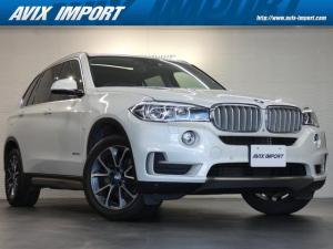 BMW X5 xDrive35d xライン 7人乗り セレクトPKG パノラマSR 黒革 シートヒーター 7人乗り 純正HDDナビ&全周カメラ 後席モニター LEDライト ACC インテリジェントS 禁煙車