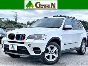 BMW X5 xDrive 35i 後期 3リッターターボ 黒本革シート 純正HDDナビ 地デジ バック&トップビューカメラ パークセンサー キセノン ミラーETC コンフォートアクセス 純正18インチAW 禁煙車