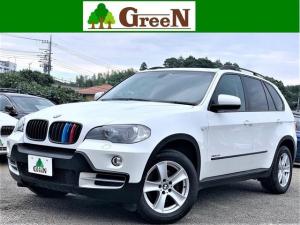 BMW X5 3.0Si ワンオーナー車 黒本革シート シートヒーター キセノン 純正HDDナビ バックカメラ パークセンサー シートヒーター ミラーETC 18インチAW キーレス セキュリティ CDチェンジャー 禁煙車