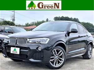 BMW X4 xDrive 35i Mスポーツ ブラウン本革シート アクティブクルーズコントロール インテリジェントセーフティ 衝突軽減ブレーキ 車線逸脱警告 純正HDDナビ 地デジ 全方位カメラ 純正フルエアロ 専用19AW 禁煙車