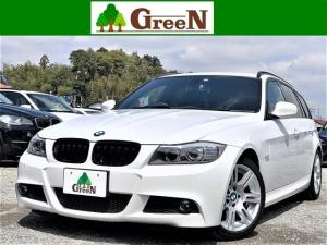 BMW 3シリーズ 320iツーリング Mスポーツパッケージ 後期最終モデル 直噴エンジン NEWiDrive 純正HDDナビ 純正Mスポーツフルエアロ 専用17AW キセノン アルカンターラスポーツシート ミラーETC コンフォートアクセス