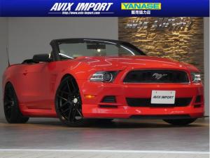 フォード マスタング V6コンバーチブルプレミアム 白革 SD地デジBC 22AW